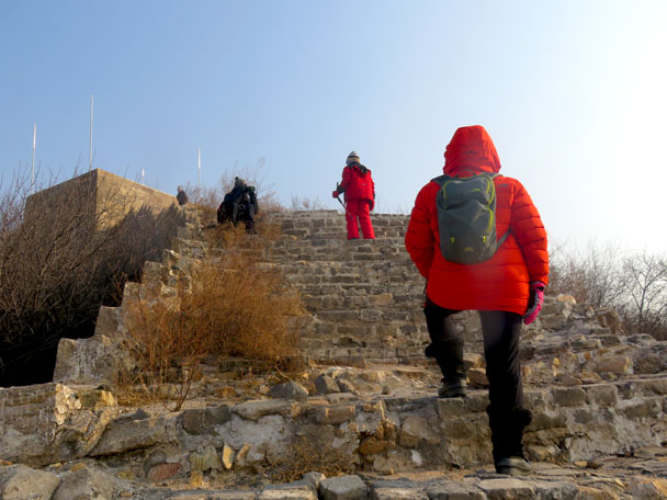 Longquanyu Great Wall to the Little West Lake, 2017/12/27 photo #14