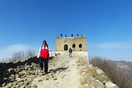 Jiankou to Mutianyu Great Wall, 2018/01/20