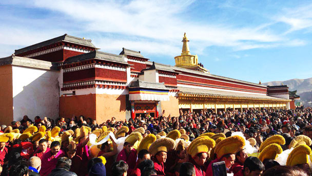Unveiling the Buddha at Labrang Monastery, 2018/02
