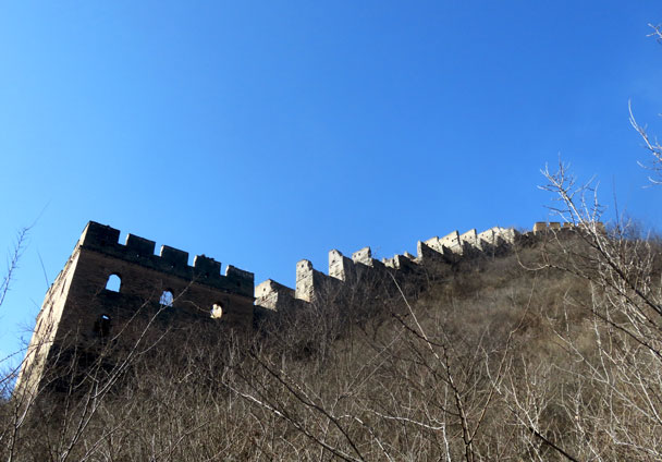 Gubeikou to Jinshanling Great Wall, 2018/02/10 photo #17