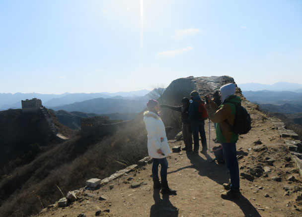 Gubeikou to Jinshanling Great Wall, 2018/02/10 photo #22