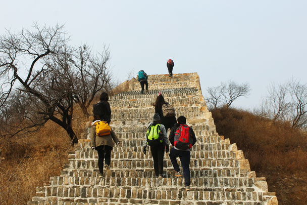 High Rise to Longquanyu Great Wall, 2018/02/17 photo #21