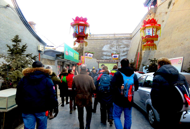 CNY Overnight Yu County's Ancient Walled Towns and Fireworks of Molten Iron, 2018/02/18 photo #4