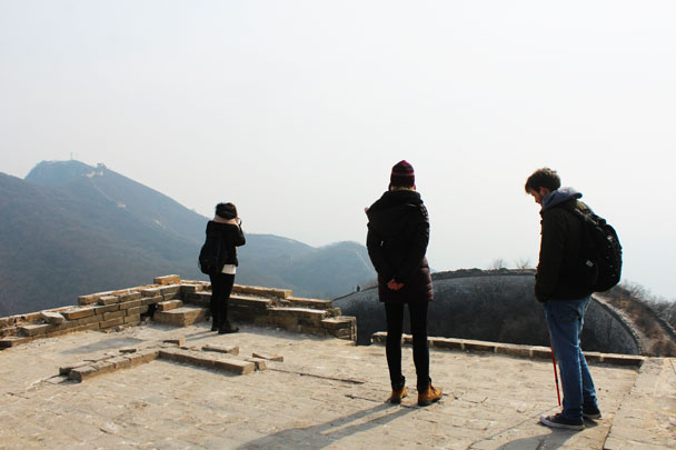 Jiankou to Mutianyu Great Wall, 2018/02/19 photo #3