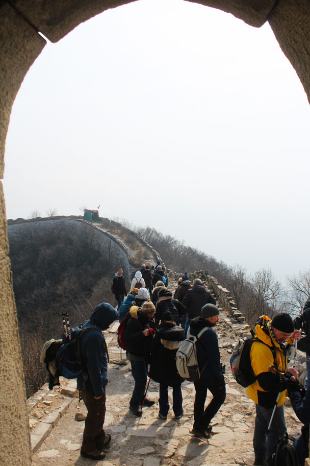 Jiankou to Mutianyu Great Wall, 2018/02/19 photo #9