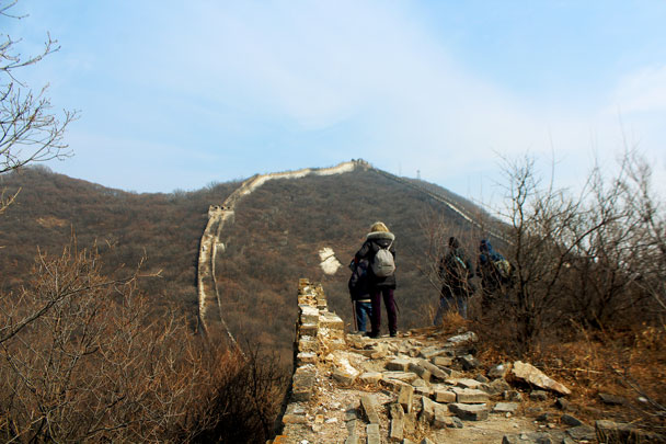 Jiankou to Mutianyu Great Wall, 2018/02/19 photo #12