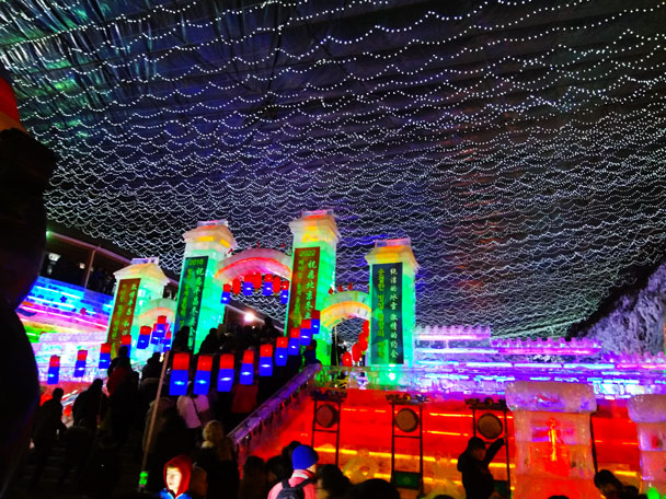 Longqingxia Ice Festival and Tang Dynasty Caves, 201802/20 photo #27