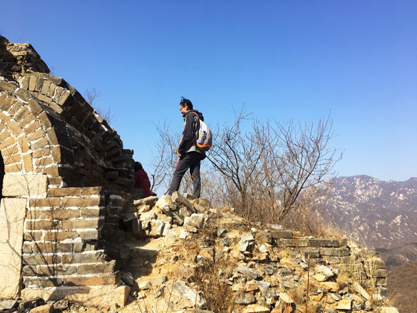 Walled Village to Huanghuacheng Great Wall, 2018/03/10 photo #11