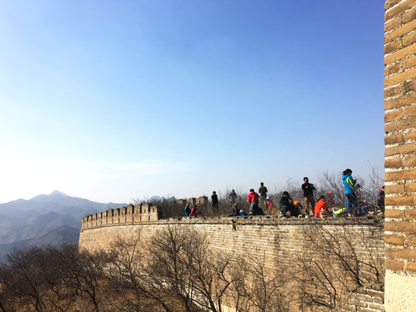 Walled Village to Huanghuacheng Great Wall, 2018/03/10 photo #14