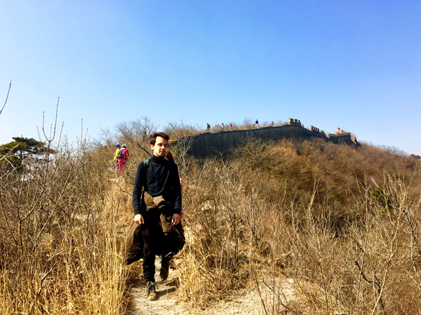 Walled Village to Huanghuacheng Great Wall, 2018/03/10 photo #21