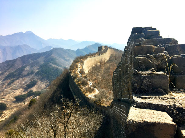 Walled Village to Huanghuacheng Great Wall, 2018/03/10 photo #22
