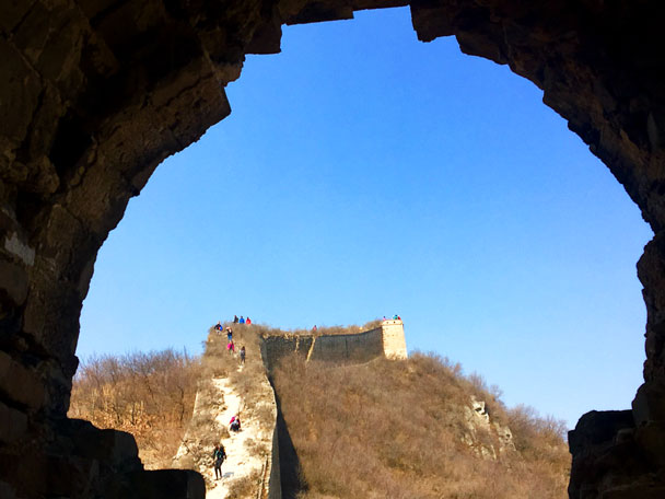 Walled Village to Huanghuacheng Great Wall, 2018/03/10 photo #25