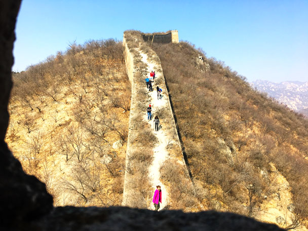 Walled Village to Huanghuacheng Great Wall, 2018/03/10 photo #26