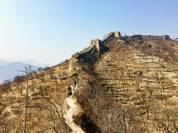 Walled Village to Huanghuacheng Great Wall, 2018/03/10 photo #28