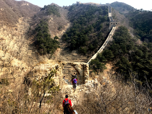 Walled Village to Huanghuacheng Great Wall, 2018/03/10 photo #30