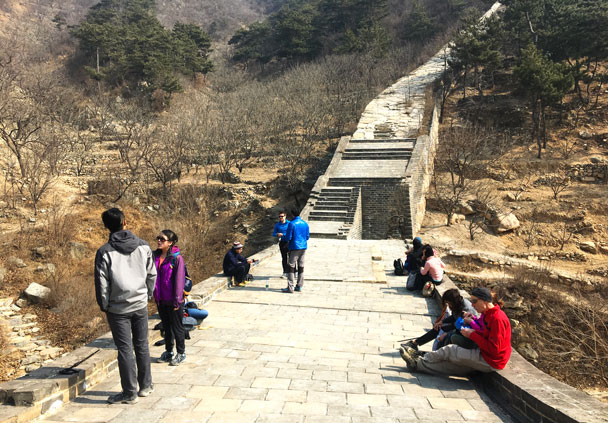Walled Village to Huanghuacheng Great Wall, 2018/03/10 photo #32