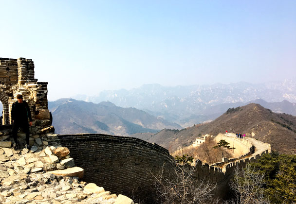 Walled Village to Huanghuacheng Great Wall, 2018/03/10 photo #37