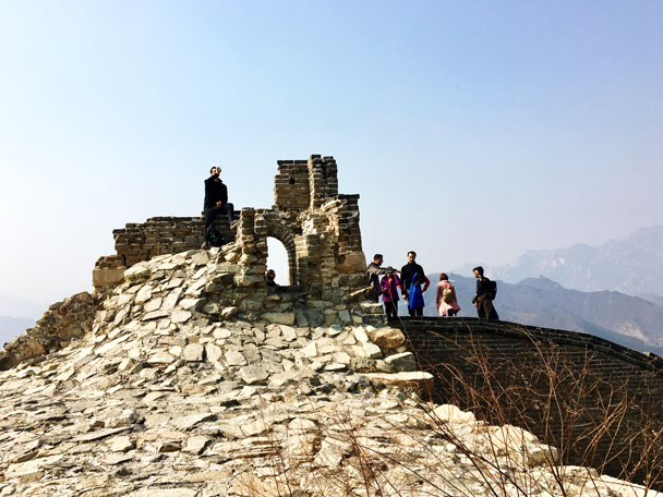 Walled Village to Huanghuacheng Great Wall, 2018/03/10 photo #39