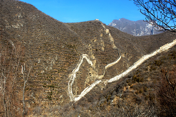 One of the places where you think 'Was a wall really needed here?' - Chinese Knot Great Wall, 2018/03/10