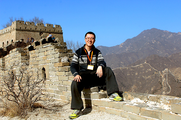 Hiking guide Andy - Chinese Knot Great Wall, 2018/03/10