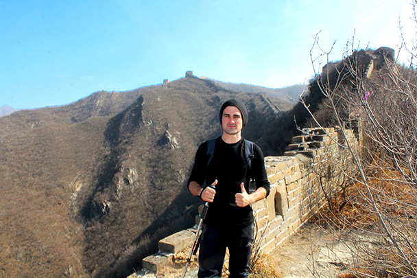 Photo on the Great Wall - Chinese Knot Great Wall, 2018/03/10