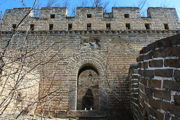 This tower is in good shape - Chinese Knot Great Wall, 2018/03/10