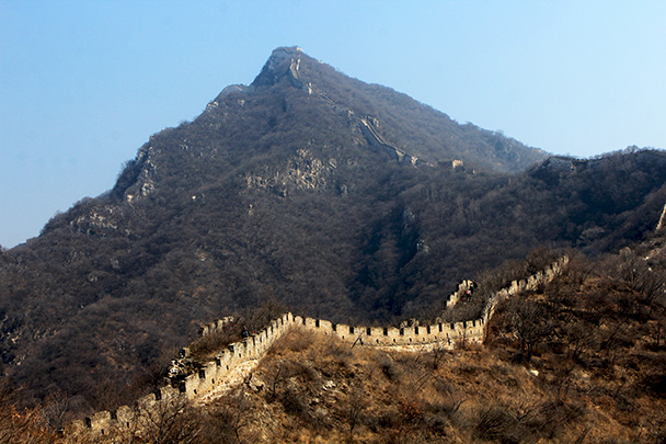 Now looking up towards the next high point - Chinese Knot Great Wall, 2018/03/10