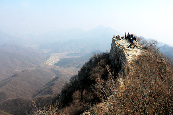 This is a great lookout - Chinese Knot Great Wall, 2018/03/10