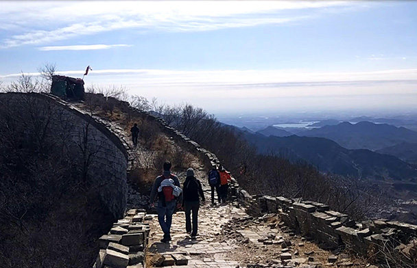 Jiankou to Mutianyu Great Wall, 2018/03/15 photo #3