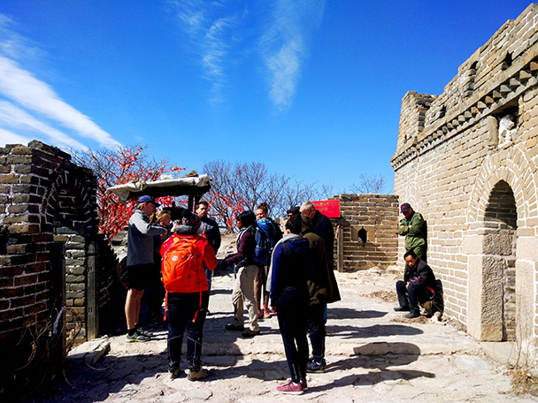 Jiankou to Mutianyu Great Wall, 2018/03/15 photo #13