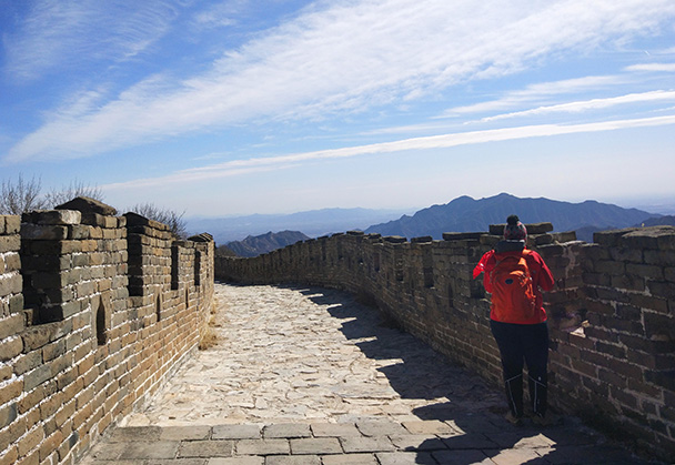Jiankou to Mutianyu Great Wall, 2018/03/15 photo #16