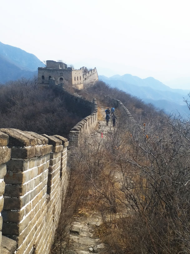 The last tower we'd see on the hike - Great Wall Spur hike, 2018/03/21