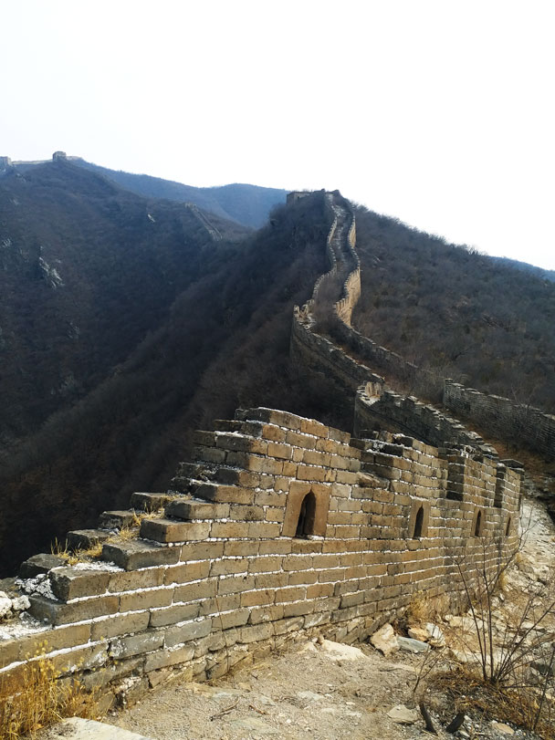 We'd follow the wall up - Great Wall Spur hike, 2018/03/21