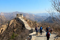 Longquanyu Great Wall to the Little West Lake, 2018/03/25