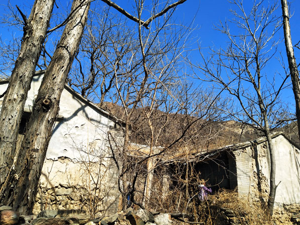 Tanzhe Temple and the Abandoned Village, 2018/03/25 photo #11