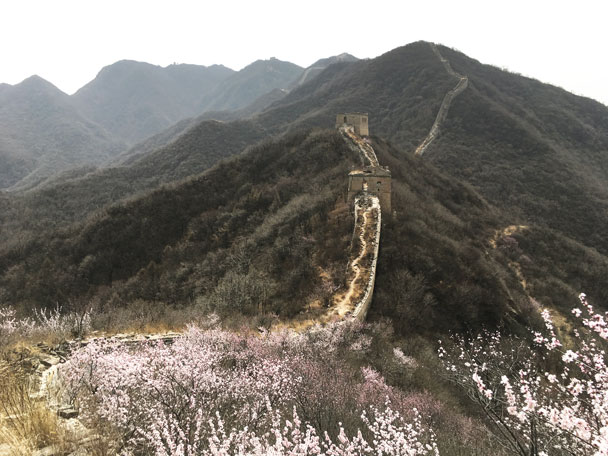 Middle Route of Switchback Great Wall, 2018/03/29 photo #3