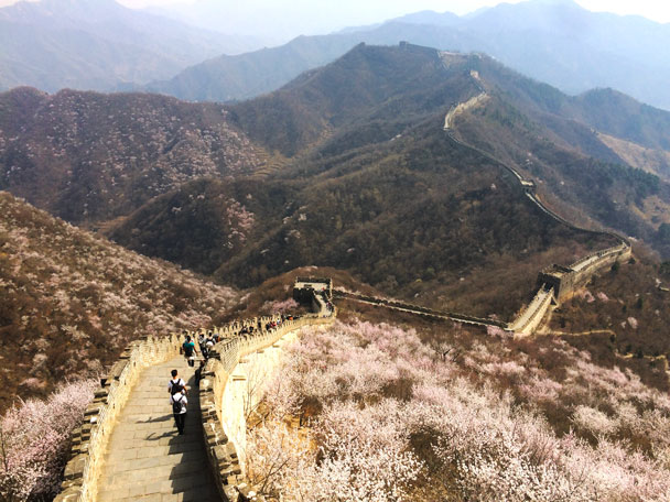 Jiankou to Mutianyu Great Wall, 2018/03/31 photo #18