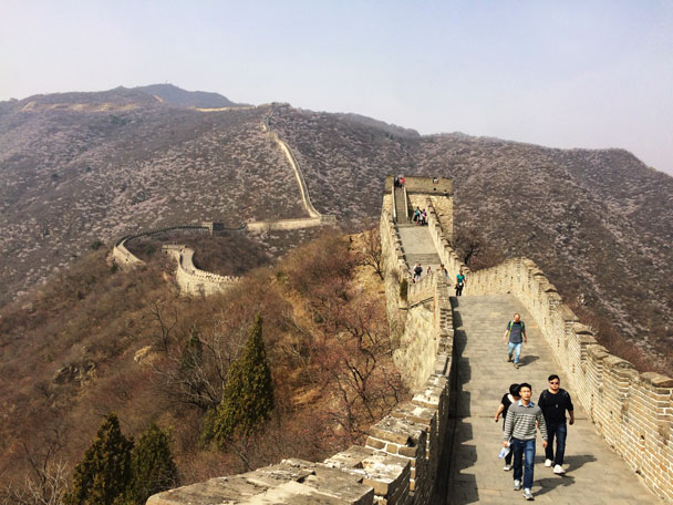 Jiankou to Mutianyu Great Wall, 2018/03/31 photo #21