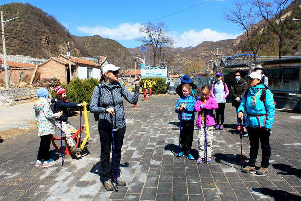 Everybody ready? - Girl Scouts hike at Changyucheng, 2018/04/14