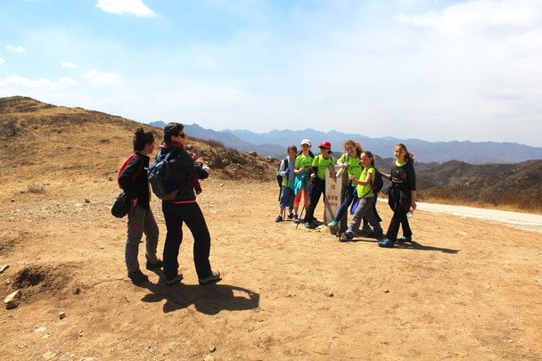 We made it! - Girl Scouts hike at Changyucheng, 2018/04/14