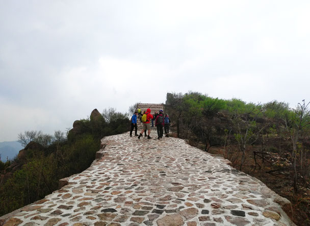 Longquanyu Great Wall to the Little West Lake, 2018/04/21 photo #4