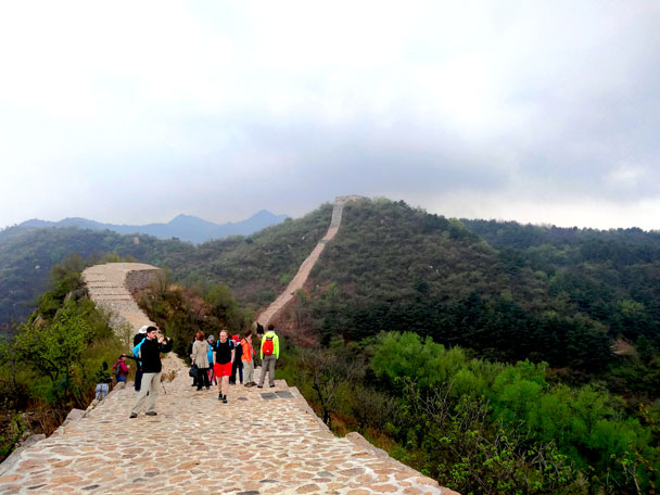 Longquanyu Great Wall to the Little West Lake, 2018/04/21 photo #5