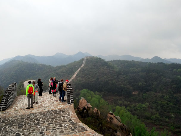Longquanyu Great Wall to the Little West Lake, 2018/04/21 photo #7