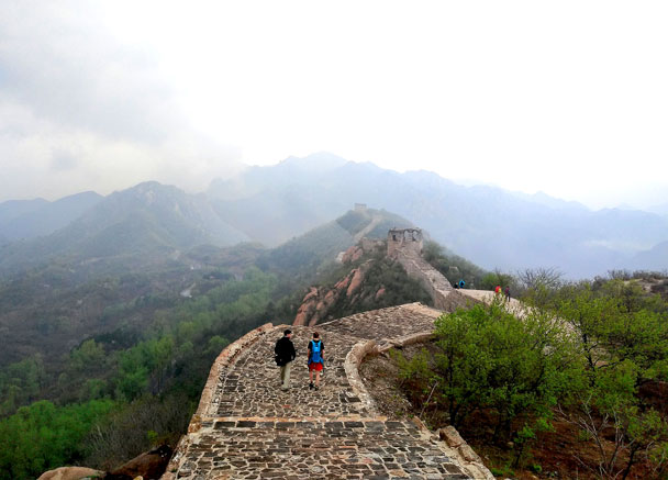 Longquanyu Great Wall to the Little West Lake, 2018/04/21 photo #8