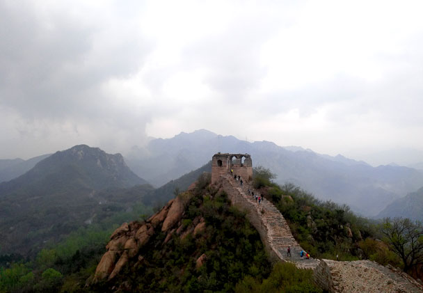 Longquanyu Great Wall to the Little West Lake, 2018/04/21 photo #9