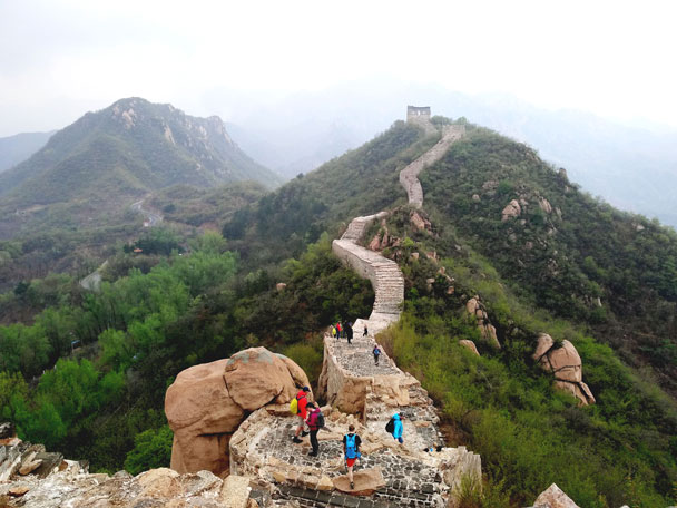 Longquanyu Great Wall to the Little West Lake, 2018/04/21 photo #12