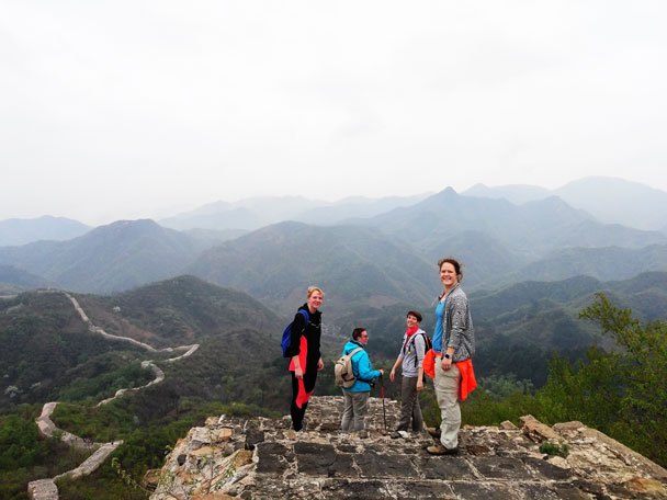 Longquanyu Great Wall to the Little West Lake, 2018/04/21 photo #14