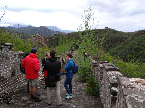 Longquanyu Great Wall to the Little West Lake, 2018/04/21 photo #22