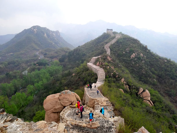 Longquanyu Great Wall to the Little West Lake, 2018/04/21 photo #29
