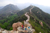 Longquanyu Great Wall to the Little West Lake, 2018/04/21